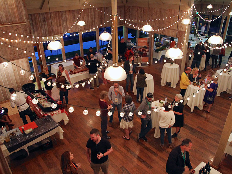 social hour at event